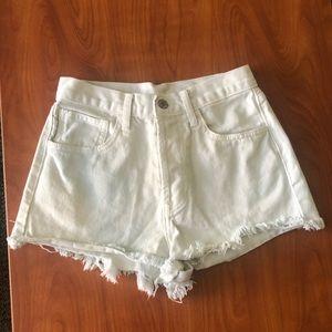 White Brandy Shorts